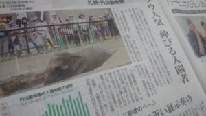 円山動物園 北海道新聞